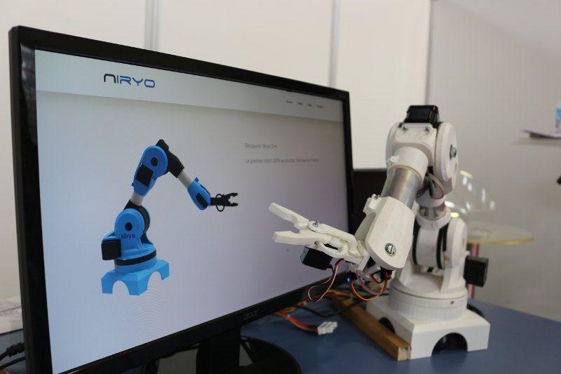 niryo révolution robotique