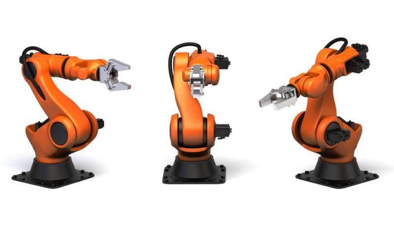 robots industriels