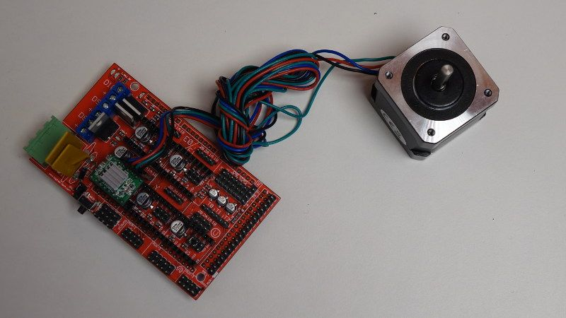 how to learn robotics with arduino - stepper motor with ramps 1.4