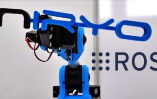 niryo one and ros - robot operating system